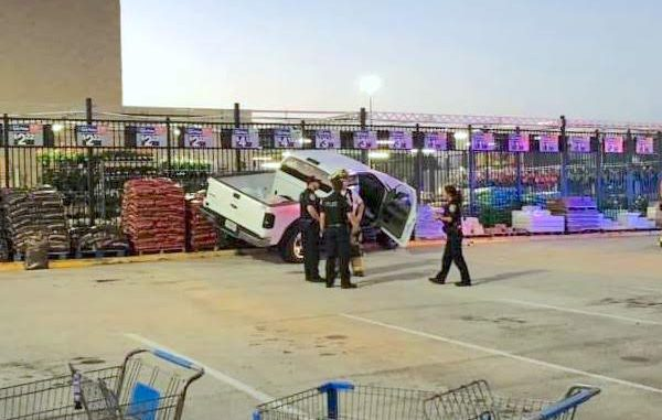 Man Crashes into Garden Center at Sebastian Walmart - Sebastian Daily