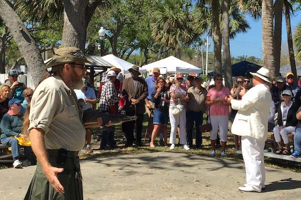 Pelican Island Wildlife Festival at Riverview Park in Sebastian, Florida.