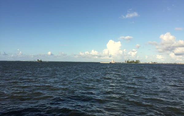 Cooler temperatures and high winds in Sebastian, Florida.