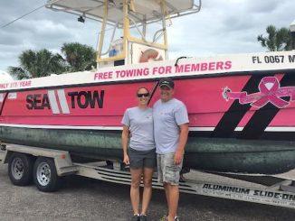 John and Amy Donaldson of Sea Tow Sebastian.