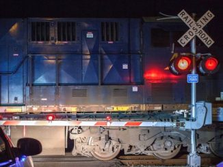 A man is still in serious condition after striking a train in Sebastian, Florida.