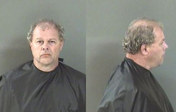 Mark Boone was arrested on a charge of battery at Walmart in Sebastian, Florida.