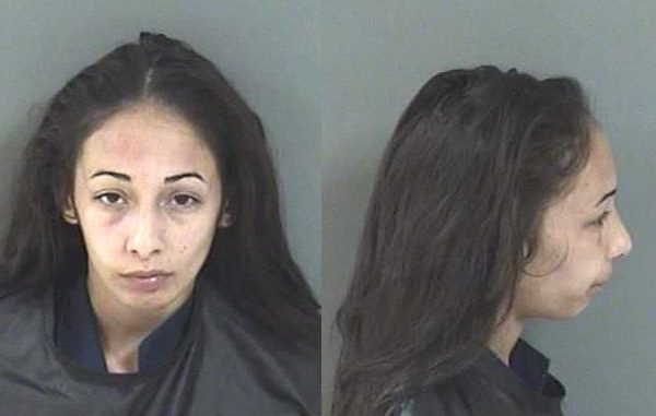 Woman crashes into a home on Barber Street in Sebastian, Florida.