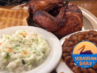 Win 2 Woody's BBQ All-You-Can-Eat Chicken meals through Sebastian Daily.