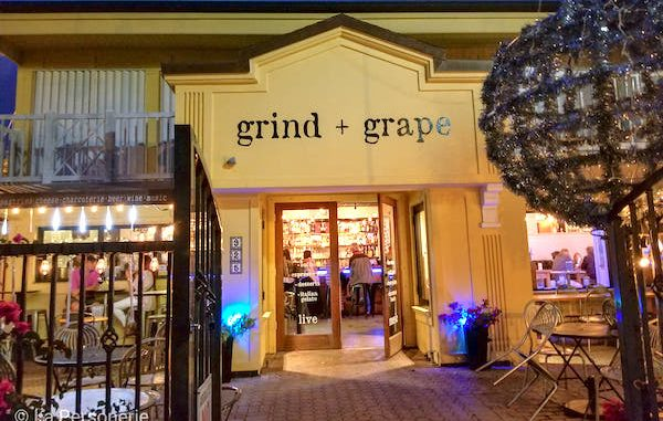 Grind and Grape in Vero Beach, Florida.