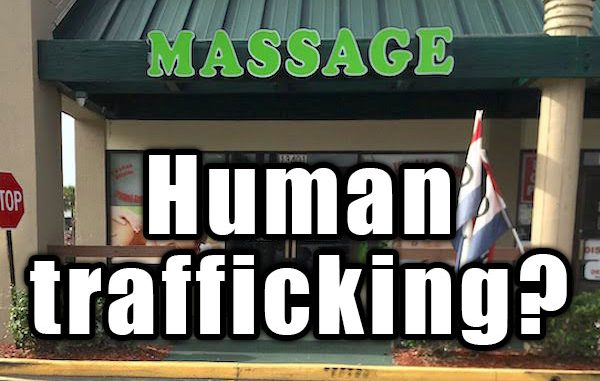 Police stand by human trafficking allegations in prostitution ring at various massage parlors in Sebastian and Vero Beach.