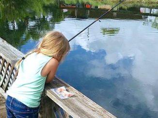 LaPorte Farms Kid's Fishing Tournament in Sebastian, Florida.