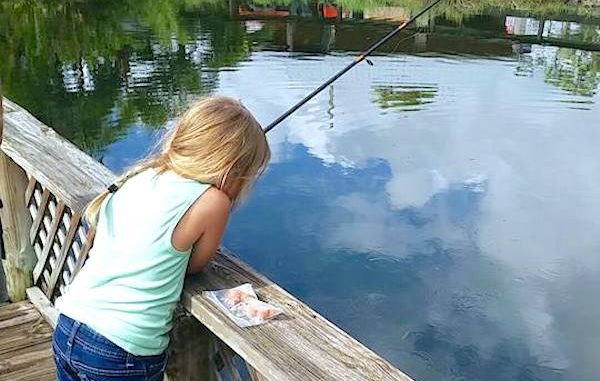 LaPorte Farms Kid's Fishing Tournament in Sebastian, Florida.