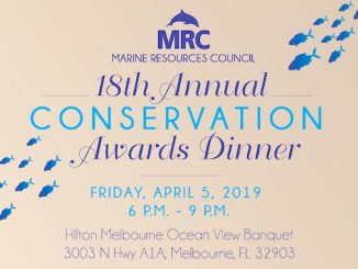 Marine Resources Council's Conservation Awards Banquet in Melbourne, Florida.