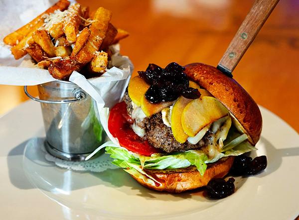 Parisienne burger