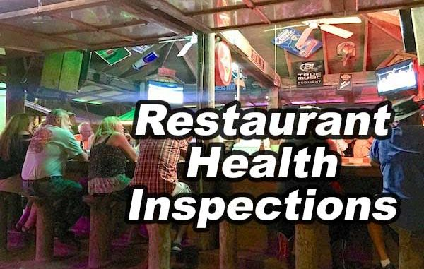 5 restaurants had a great score during their health inspection in Sebastian, Florida.