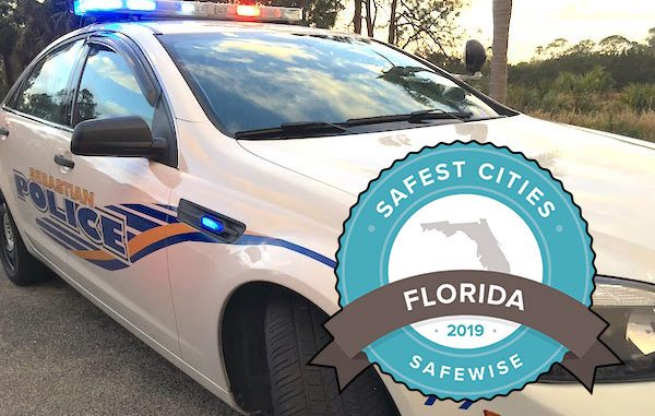 Sebastian, Florida is ranked number 38 on Florida's Safest Cities.
