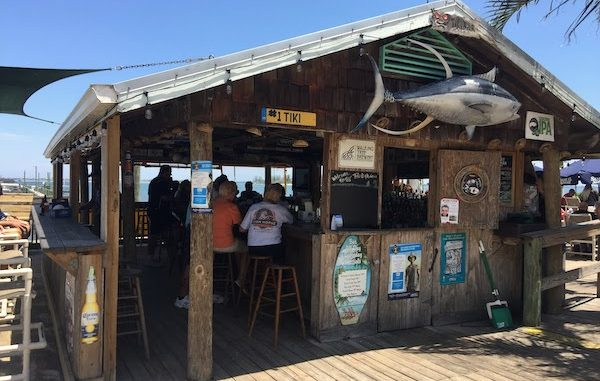 Tiki Bar & Grill in Sebastian, Florida.