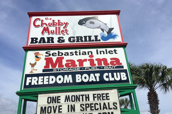 Chubby Mullet in Micco, Florida.
