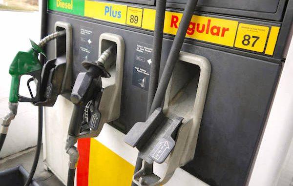 Gas prices rising again in Sebastian, Florida.