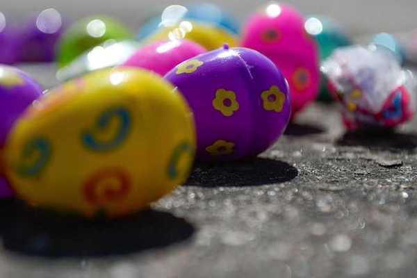 Easter egg hunts in Sebastian, Florida.