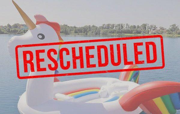 Floatzilla Vero Beach has been rescheduled.