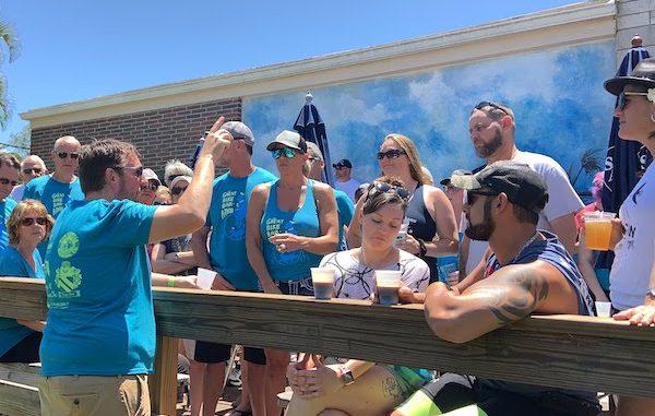 The Great Bike Bar-A-Thon raised money for HALO Rescue No-Kill Shelter in Sebastian, Florida.