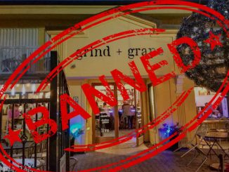 Grind + Grape bans customer for sharing a review in Vero Beach, Florida.