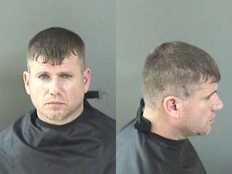A man faces multiple charges after pointing a gun at two people in Sebastian, Florida.