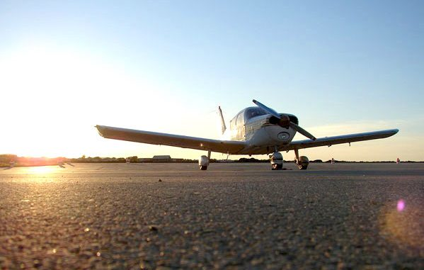 Authorities say a Piper PA28 plane made a hard landing in a field near Sebastian, Florida.