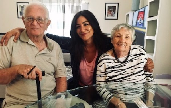 Tom and Phyllis Ingrao celebrate their 70th wedding anniversary in Sebastian, Florida.