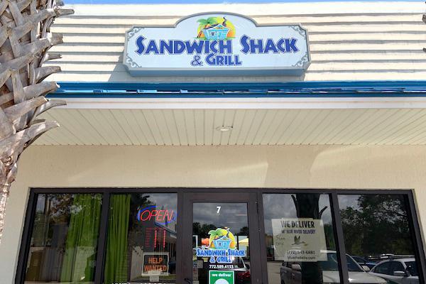 Sebastian Sandwich Shack in Sebastian, Florida.
