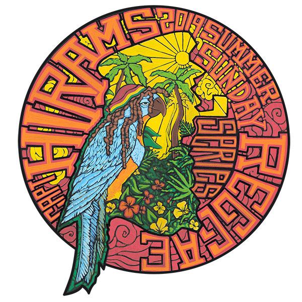 The logo for 2019 Summer Sunday Reggae Series.