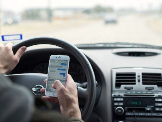 Florida's texting-while-driving law.