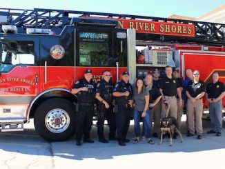 Indian River Shores fire truck.