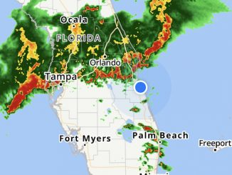 A line of thunderstorms may threaten our area.