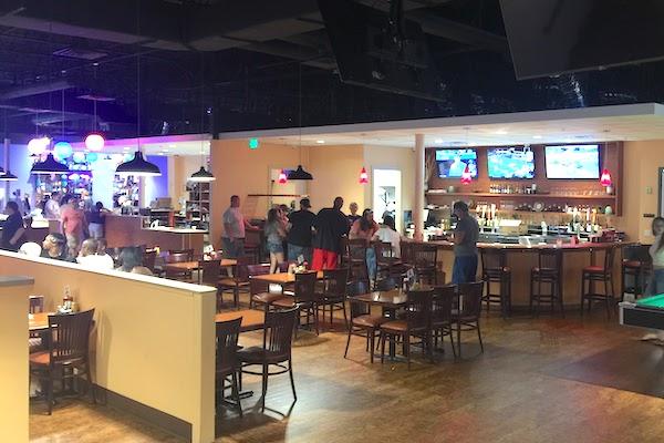 Full restaurant and bar.