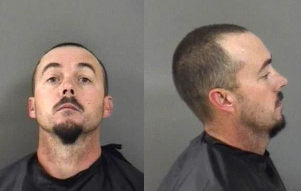 John Elezor Galloway, 42, charged with battery in Sebastian, Florida.