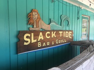 Slack Tide Bar and Grill in Grant, Florida.