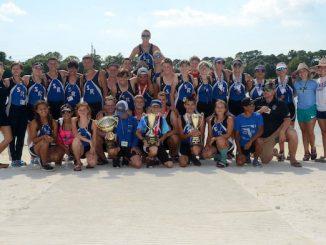 Sebastian River High School's crew team.