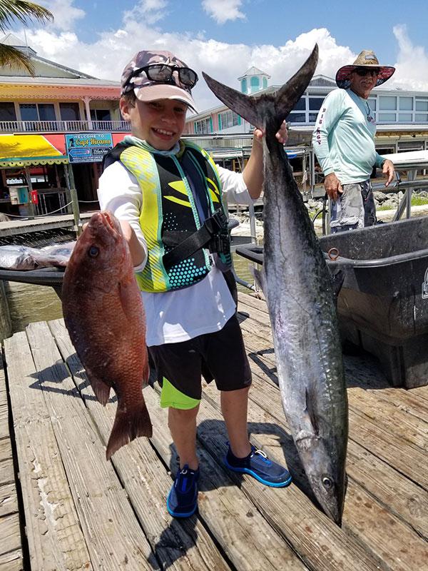 Big Easy Fishing Charter in Sebastian, Florida.