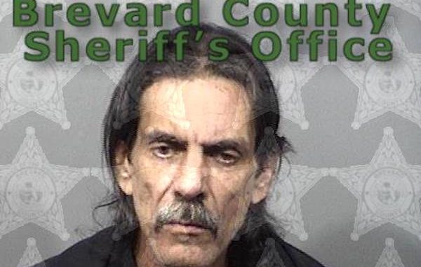 Arthur Lewis Disbrow, 55, was arrested at a Brevard County gym.