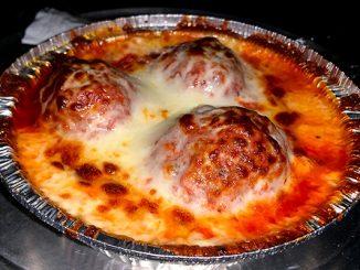 Meatballs at Earl's Hideaway Lounge in Sebastian, Florida.