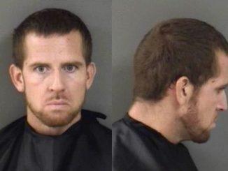 Luke R. Johnson arrested in Sebastian, Florida.