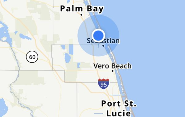 Sebastian, Florida weekend forecast.