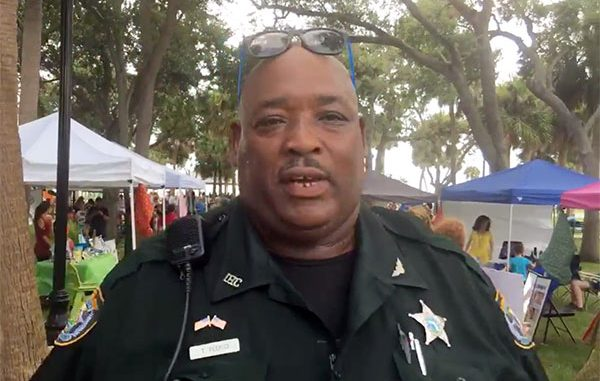 Teddy Floyd of the Indian River County Sheriff's Office.