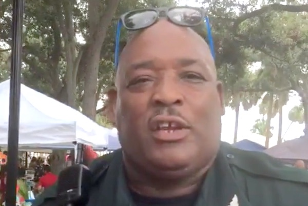 Teddy Floyd, Indian River County Sheriff's Office, on paid leave.