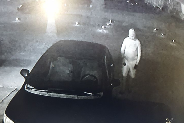Attempted burglary suspect