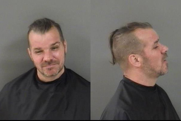 Craig Steven Conklin was arrested after smashing his wife's head against a wall in Sebastian, Florida.