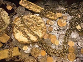 Mel Fisher's Treasure Museum in Sebastian, Florida.