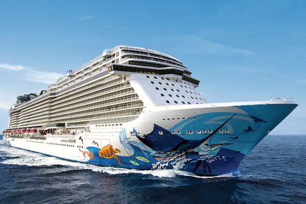 Norwegian Cruise Credit of $250 from PostCard Travel Planning.