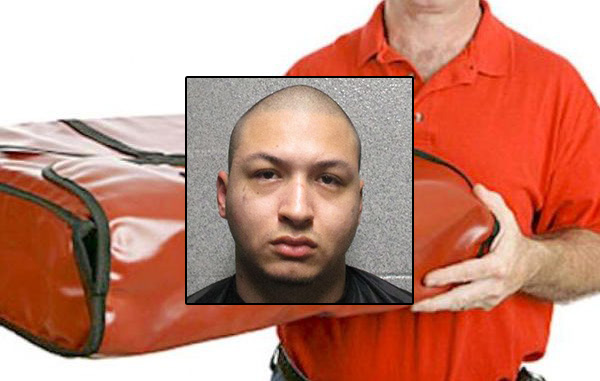 Noe Montiel, 18, was sentenced to ten years in prison for robbing a Sebastian Papa John's driver in Fellsmere, Florida.
