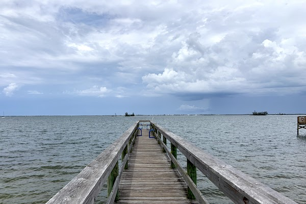Rain this weekend in Sebastian, Florida.