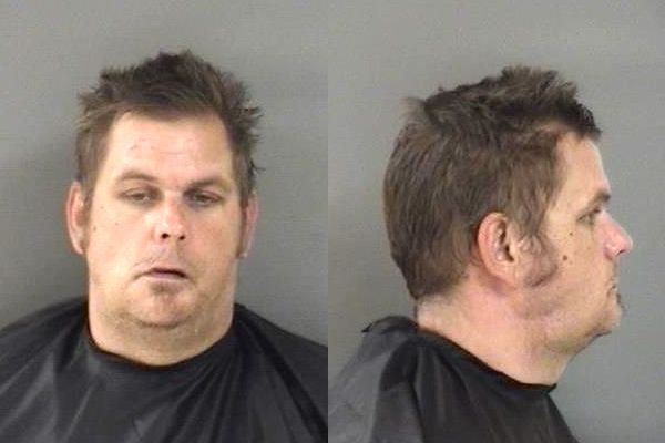 Man spits on girlfriend for having a yard sale in Vero Beach, Florida.