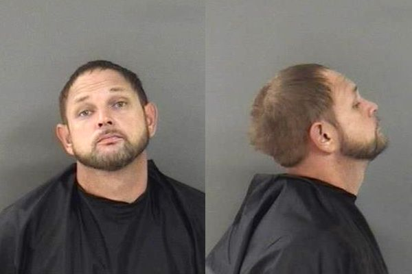 Thomas Allen Potzer is accused of stealing and forging a check in Sebastian, Florida.